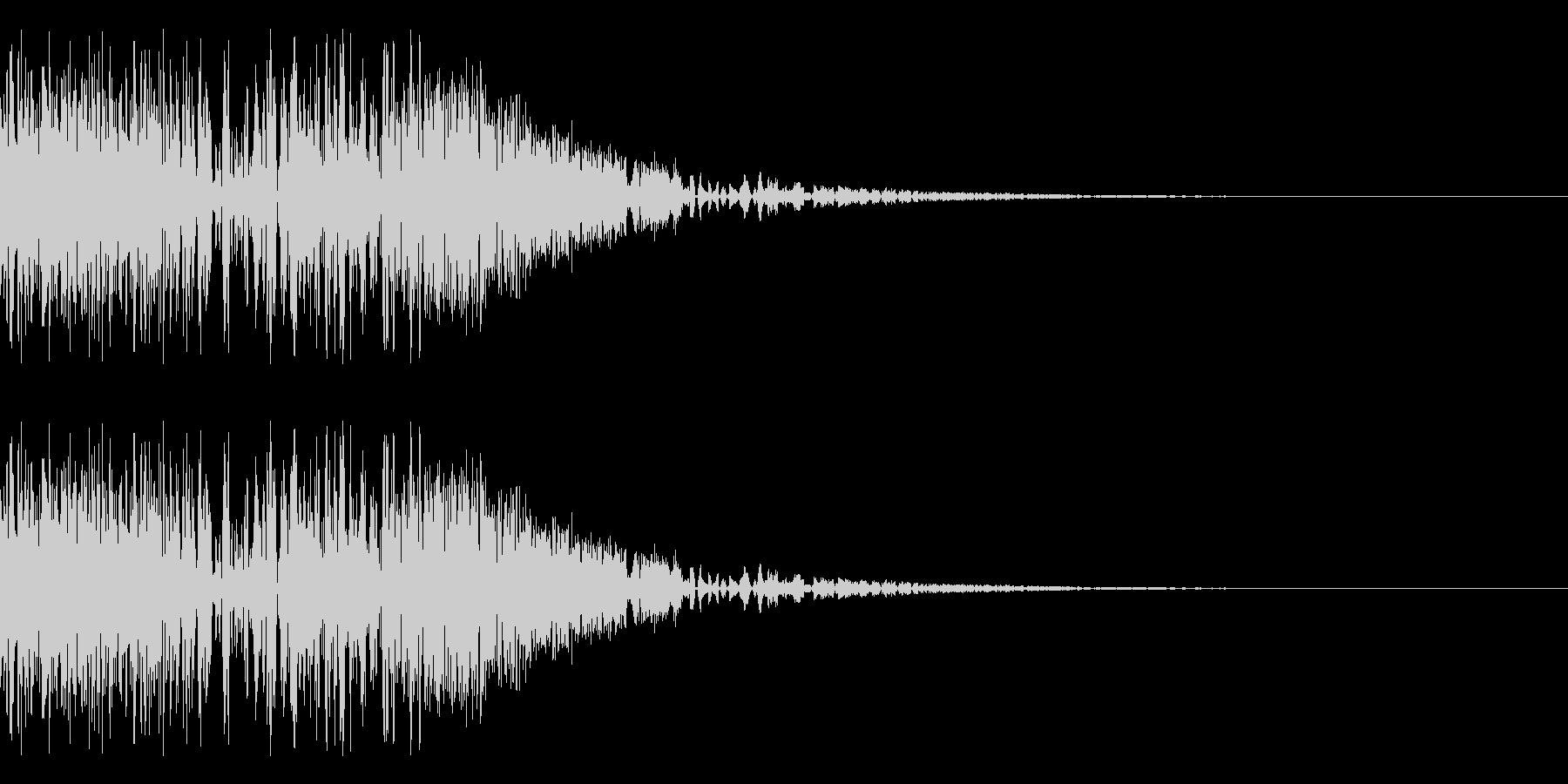 バシャッ05(水・液体系のアクション音)の未再生の波形