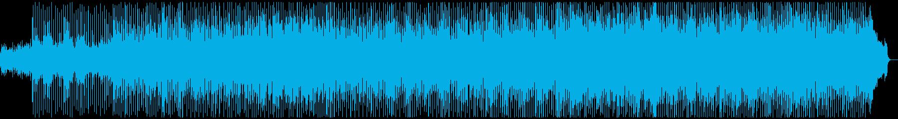 明るくキラキラした爽快なアコギのBGMの再生済みの波形
