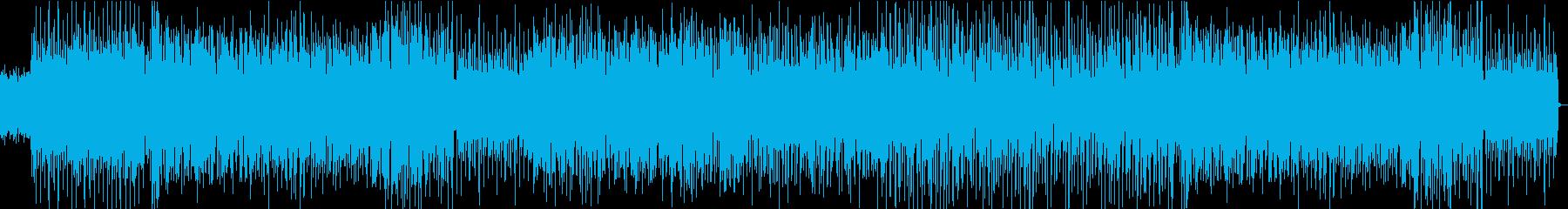 アグレッシブなエレクトロニックジャズの再生済みの波形