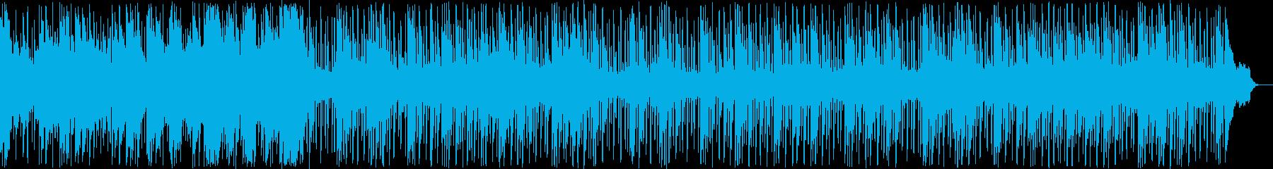 シンセ、エレクトリックピアノ、ドラ...の再生済みの波形