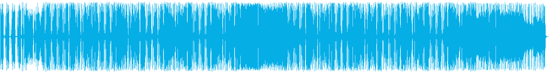 ロック 格好良い パンチがあるの再生済みの波形