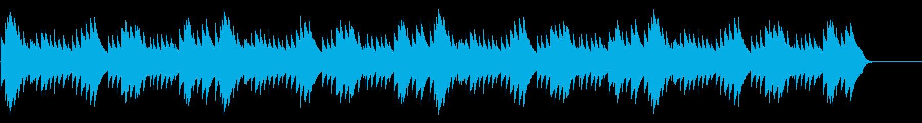 シャボン玉・速い 16bit44kHzの再生済みの波形
