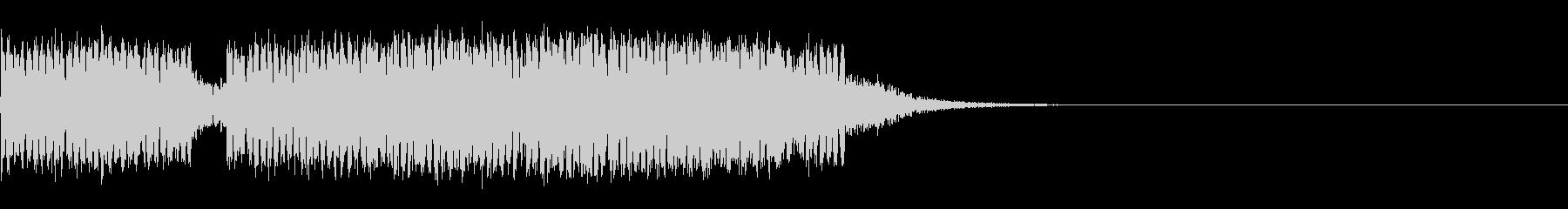スパーク音-03の未再生の波形