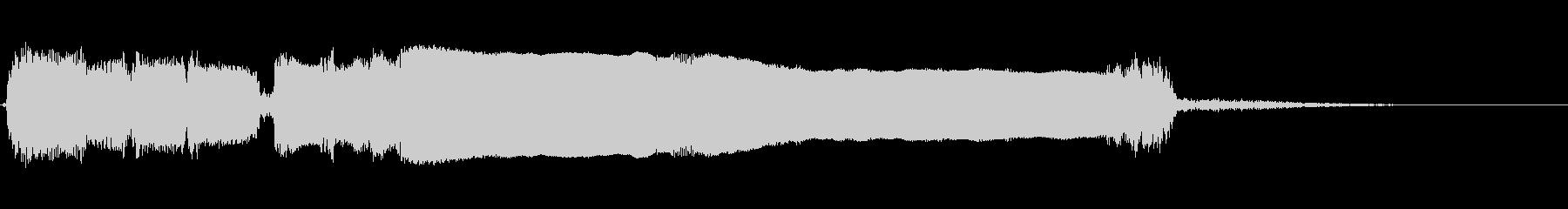 エレキギター:チャージアクセント、...の未再生の波形