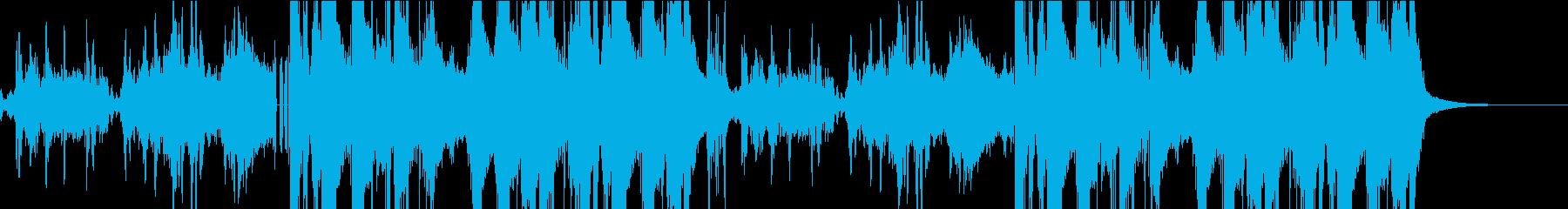憂鬱なメロディのピアノバラードの再生済みの波形