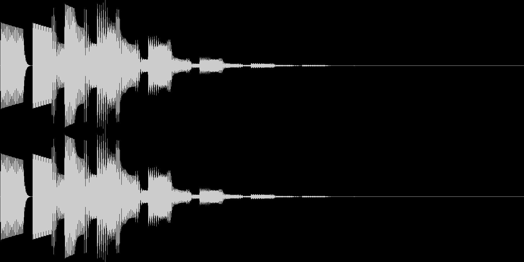 ピロリラン(決定、スタート、アイテム)の未再生の波形