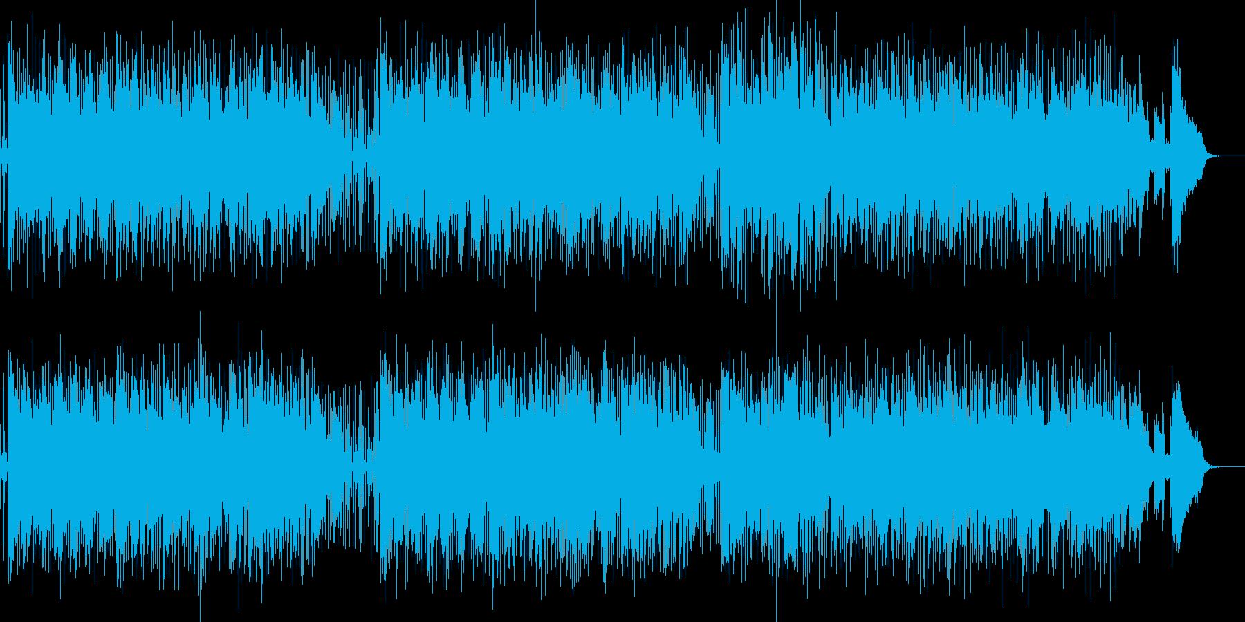 明るいアップテンポのポップスです。の再生済みの波形