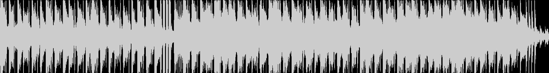 ギターメインのフュージョン・ファンクの未再生の波形