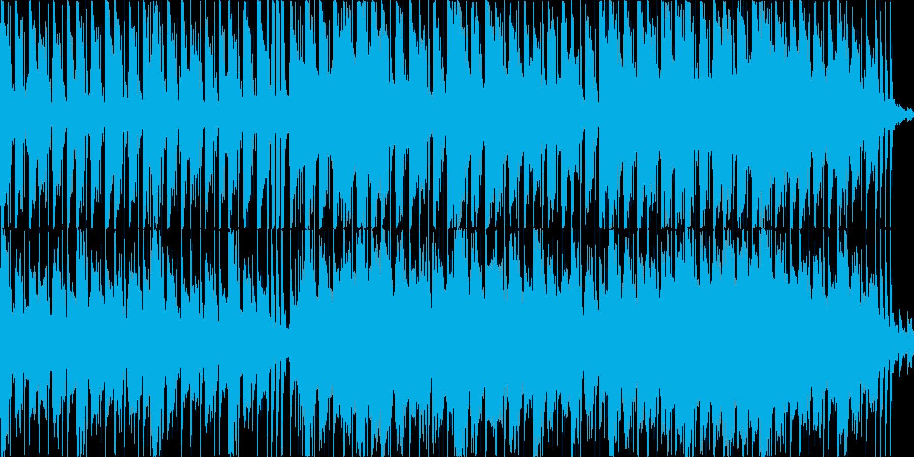 ギターメインのフュージョン・ファンクの再生済みの波形
