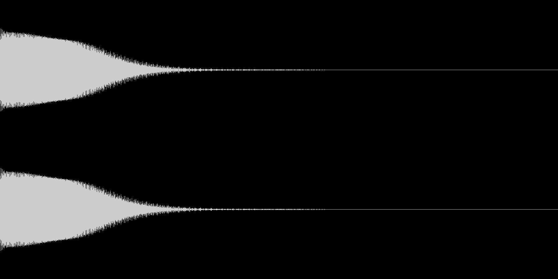 ポン!(エラー/ピコピコ/8ビットNESの未再生の波形