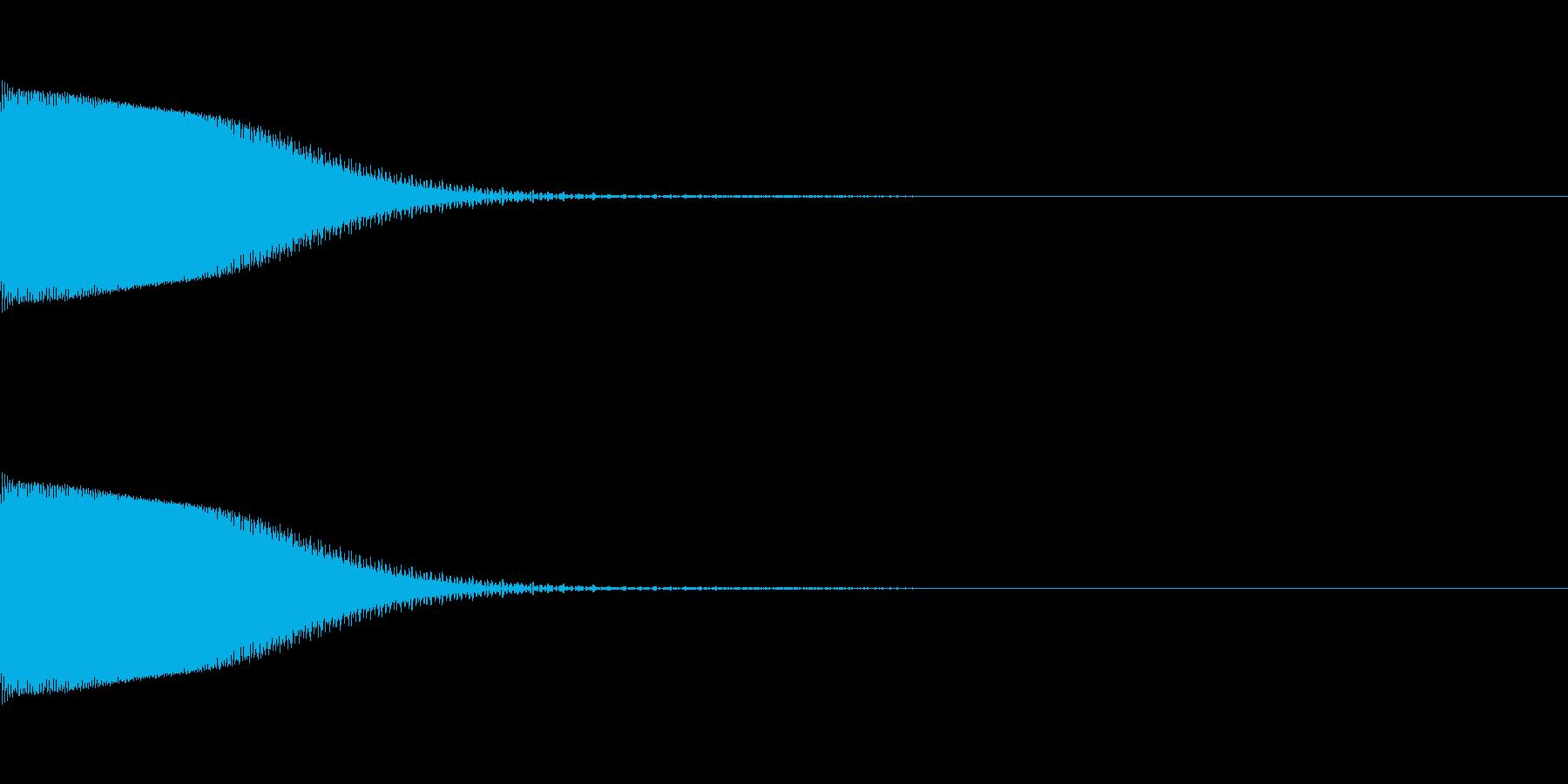 ポン!(エラー/ピコピコ/8ビットNESの再生済みの波形