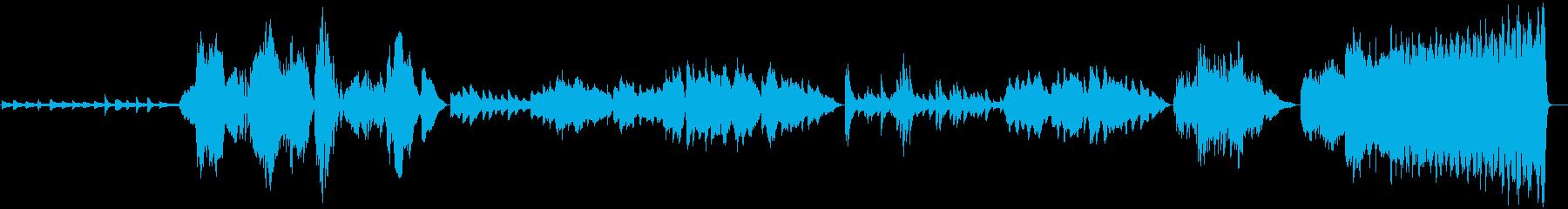 コンテンポラリー。クラシック。の再生済みの波形