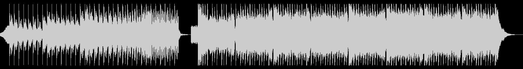 ダークな雰囲気のEDM2の未再生の波形