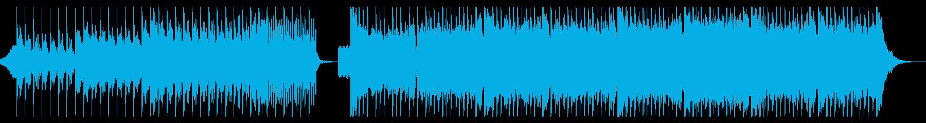 ダークな雰囲気のEDM2の再生済みの波形