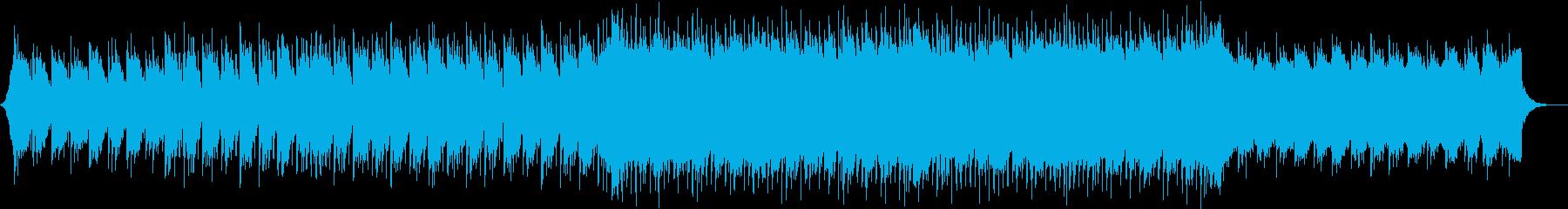 明るいエレクトロ、CM、オープニングの再生済みの波形