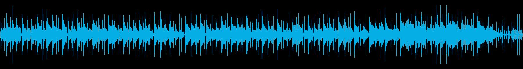 68秒ループ/可愛いウクレレポップスの再生済みの波形