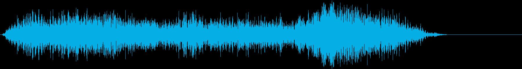 ドライアイス;不気味なローエンドメ...の再生済みの波形