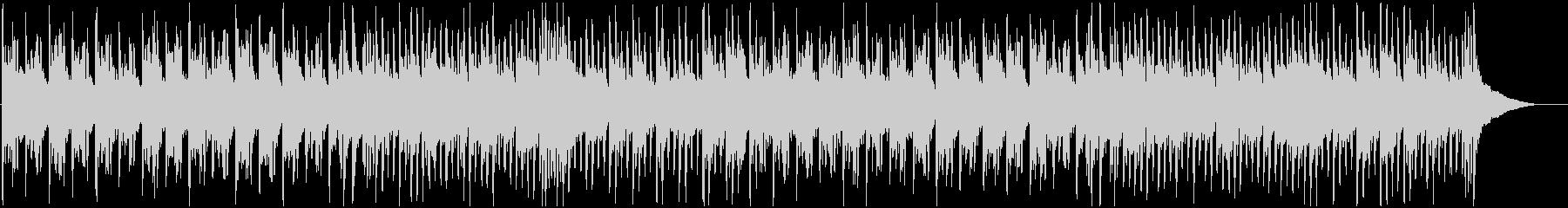 日本忍者ディスコ琴&シンセ低音ビートの未再生の波形