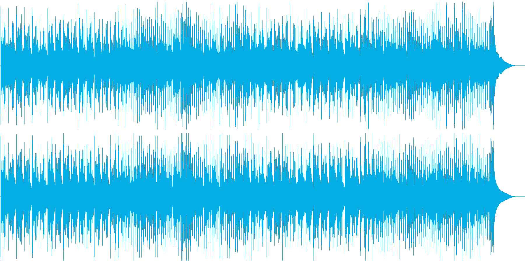 日本忍者ディスコ琴&シンセ低音ビートの再生済みの波形