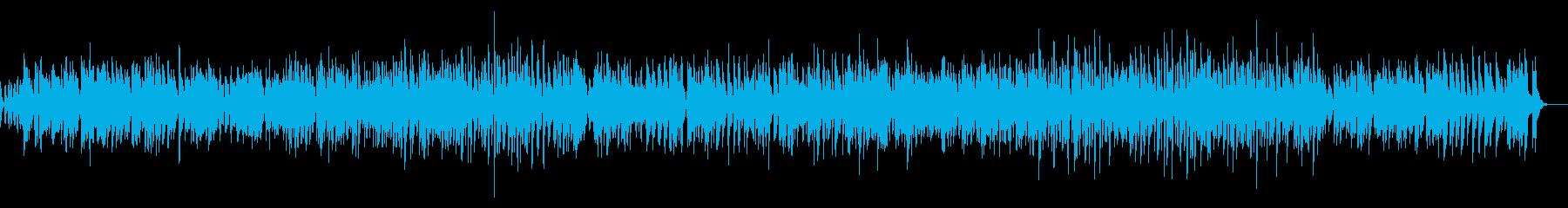 爽やか疾走感ピアノジャズオープニング系の再生済みの波形