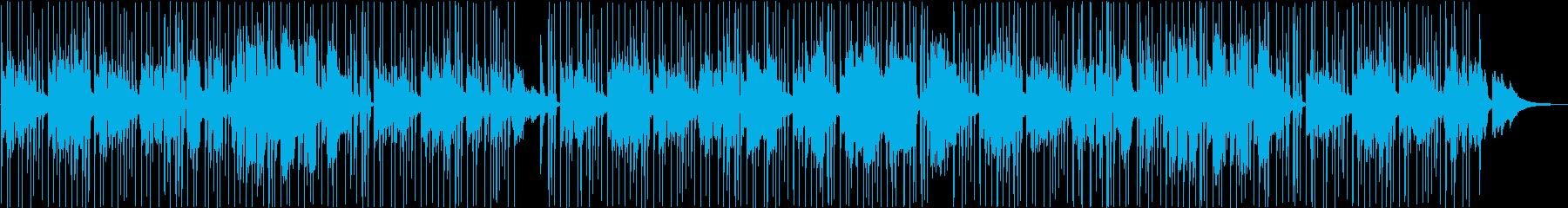 リラックスできるチルホップの再生済みの波形
