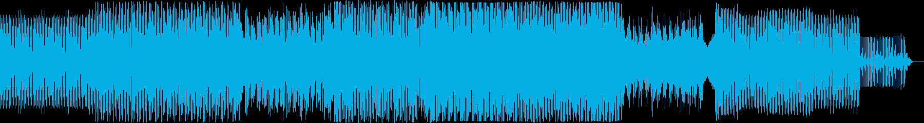奇妙で安っぽい雰囲気の電子楽器。レ...の再生済みの波形