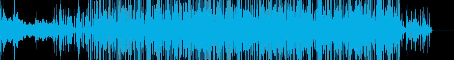 アコースティック/ブルースはギター...の再生済みの波形