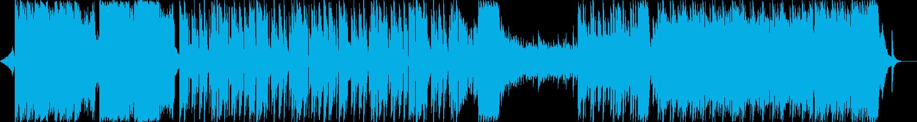 和風・ダンス・カッコイイ・ショートverの再生済みの波形