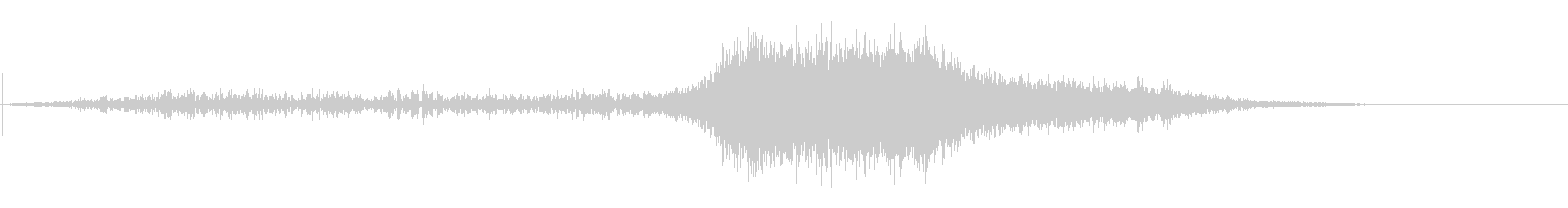 AVEトレインパス1の未再生の波形