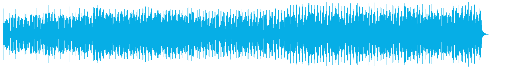 緊迫感のある妖しいマイナーテクノ/ポップの再生済みの波形