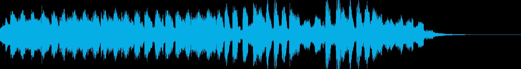 爽やか明るい軽快EDM・CMオープニングの再生済みの波形