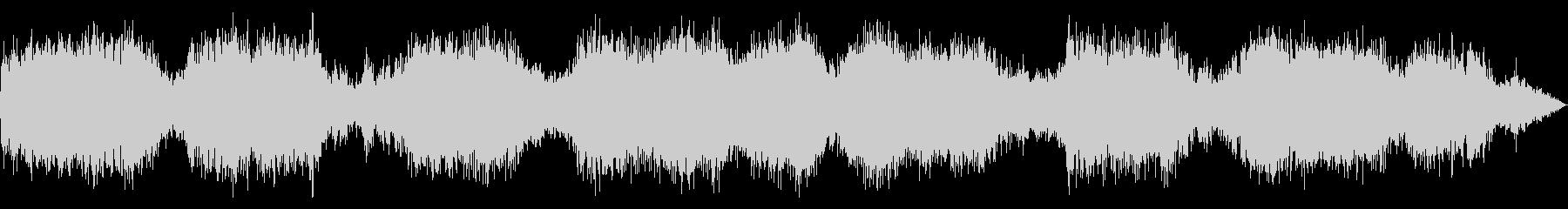美しい虫の音の未再生の波形