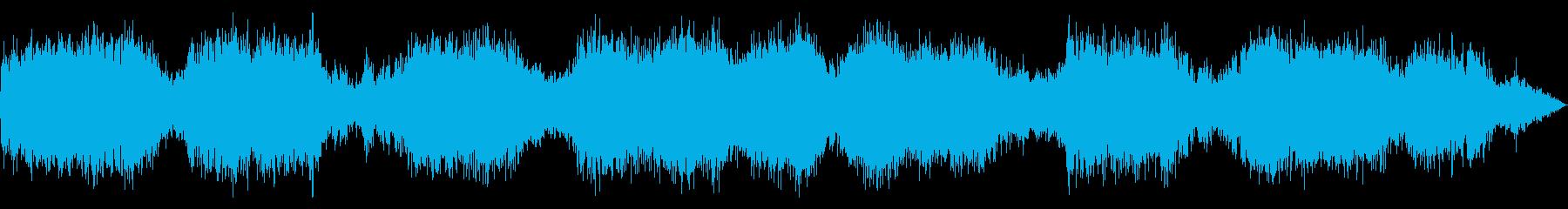 美しい虫の音の再生済みの波形