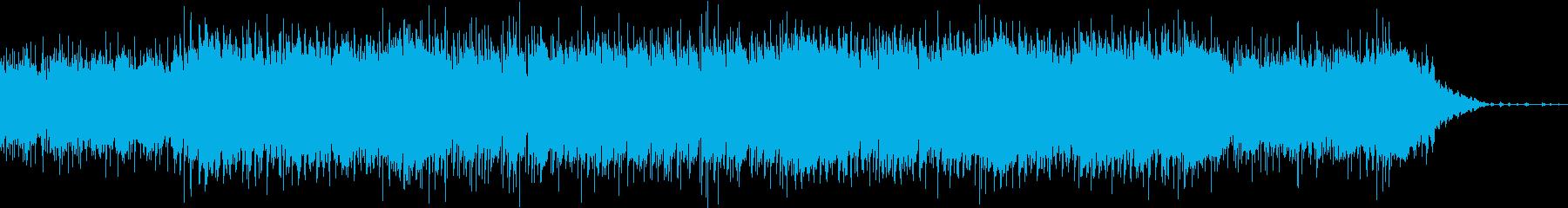 陽気・力強い・なつかしい・ブルースの再生済みの波形