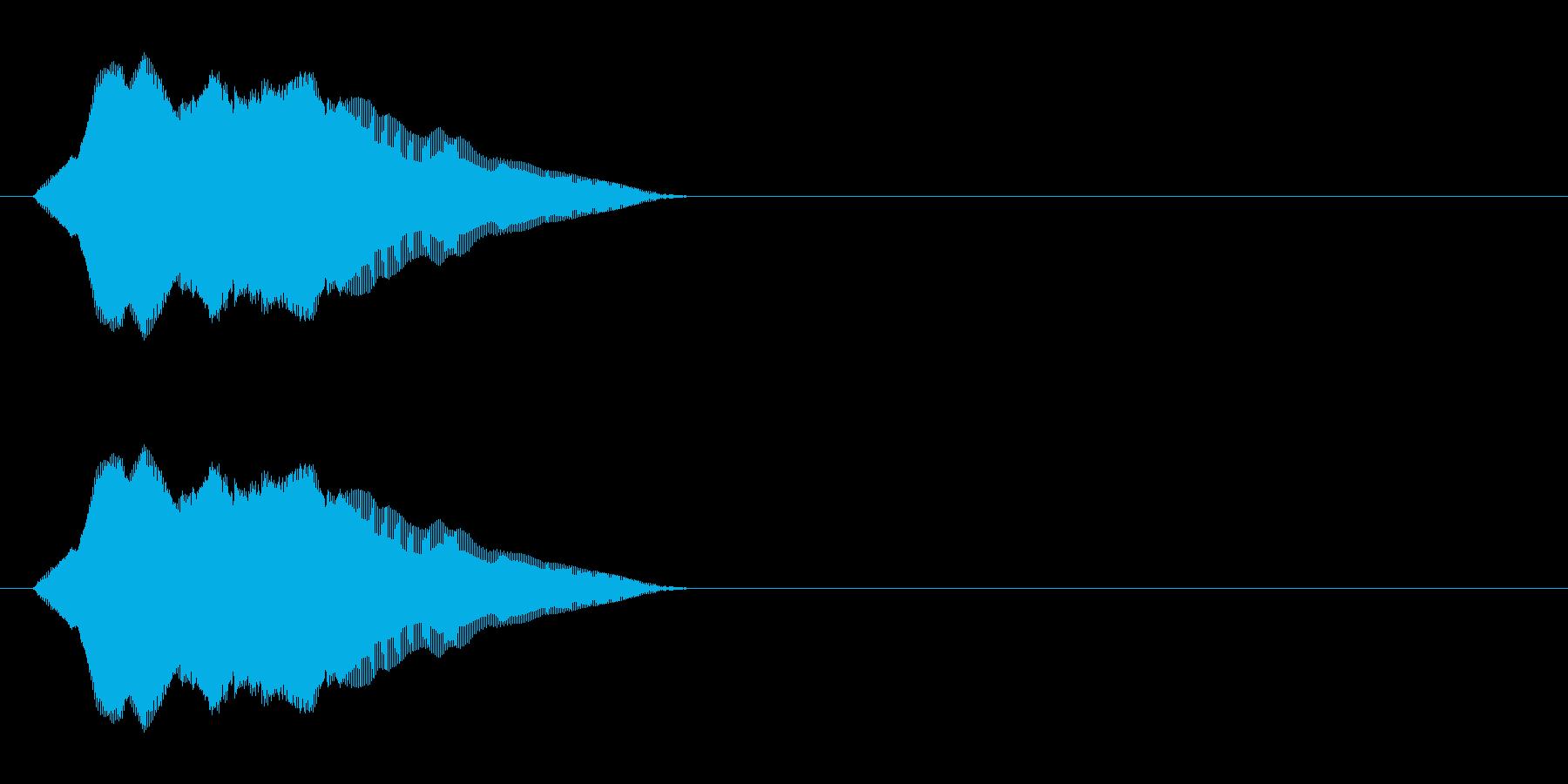 にゃーん(猫の鳴き声)パート05の再生済みの波形