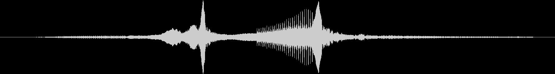 2台のパトカー:サイレン、サイレン...の未再生の波形