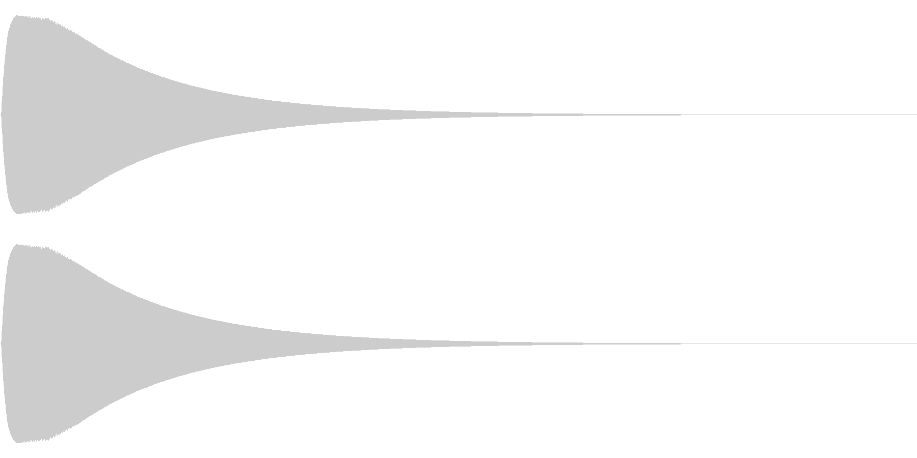ポーンの未再生の波形