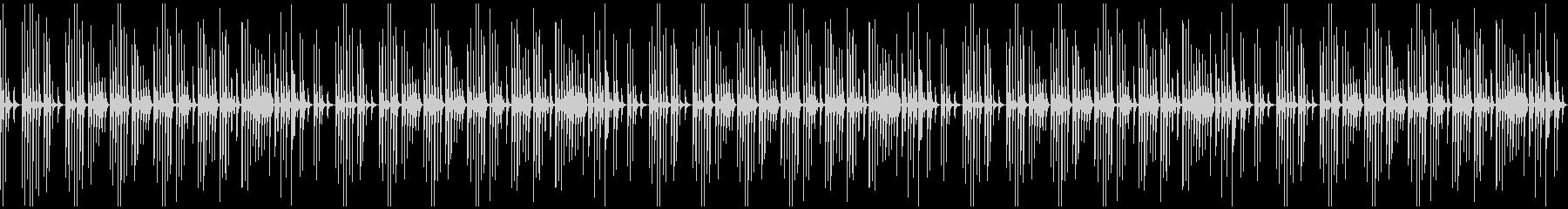 トークBGM ゆるい ループ処理済の未再生の波形