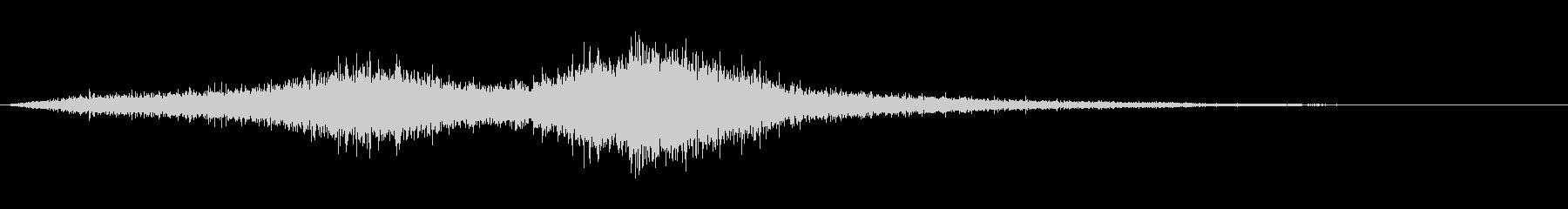 【生録音】 早朝の街 交通 環境音 4の未再生の波形