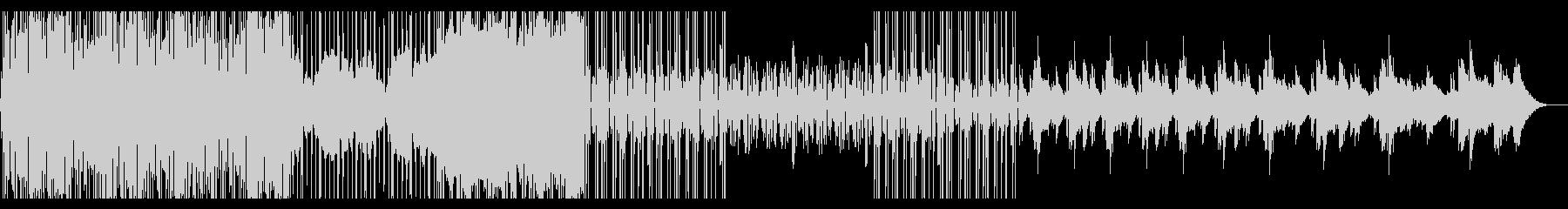 ローファイヒップホップ Lofiの未再生の波形
