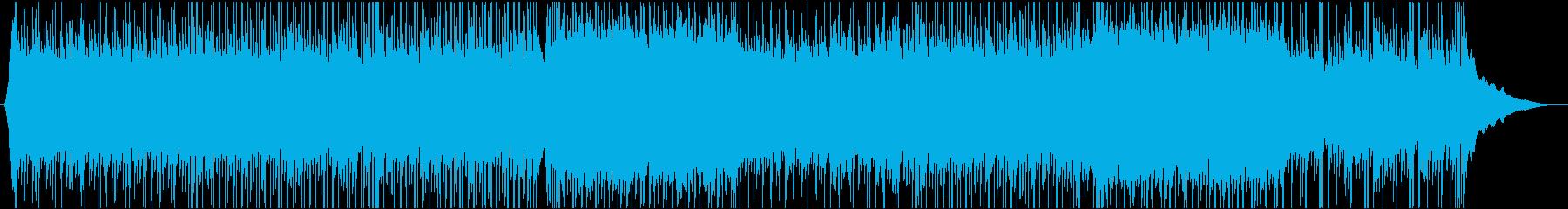 シンプルなピアノの爽やかポップロックの再生済みの波形