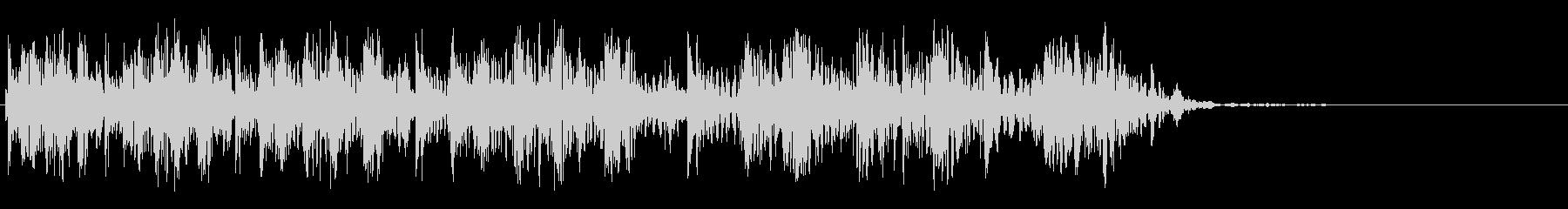 ビッグスパッタ2の未再生の波形