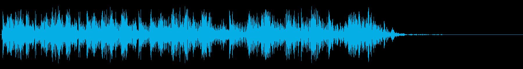 ビッグスパッタ2の再生済みの波形