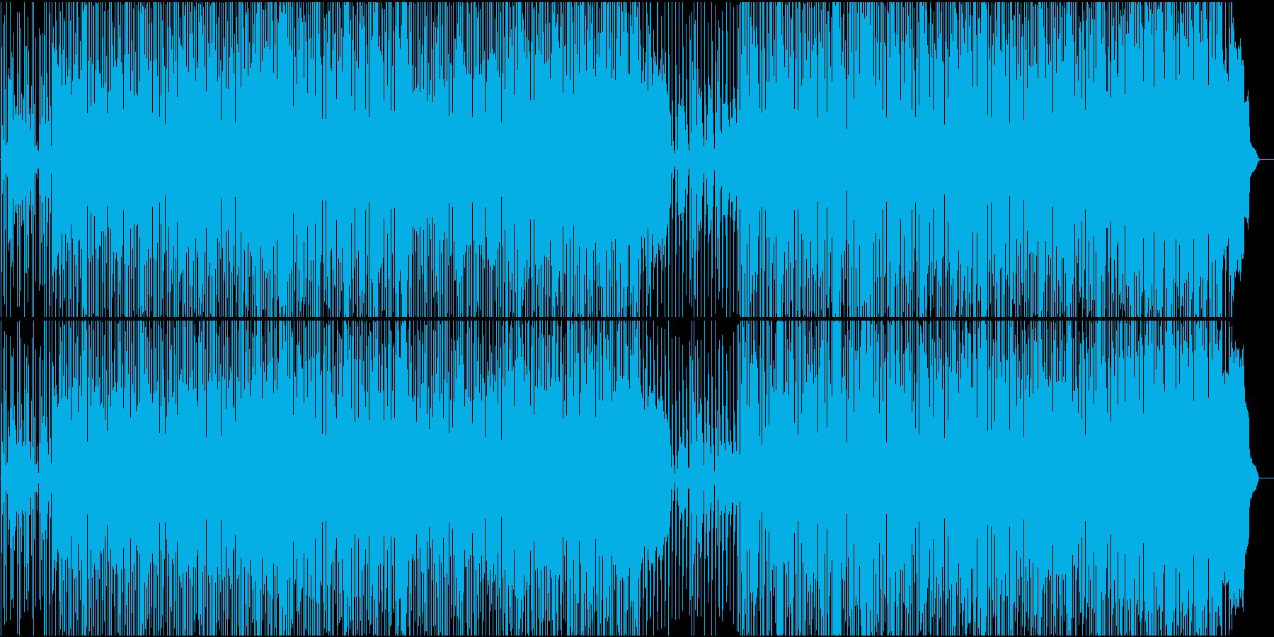 夏風レゲエバンドアレンジメントの再生済みの波形