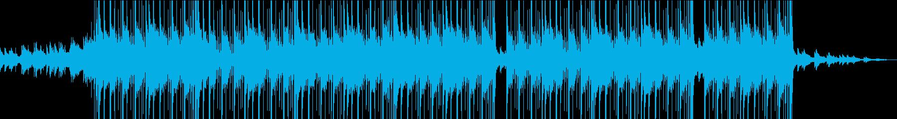 ギター、ヒップホップ、トラップビートの再生済みの波形