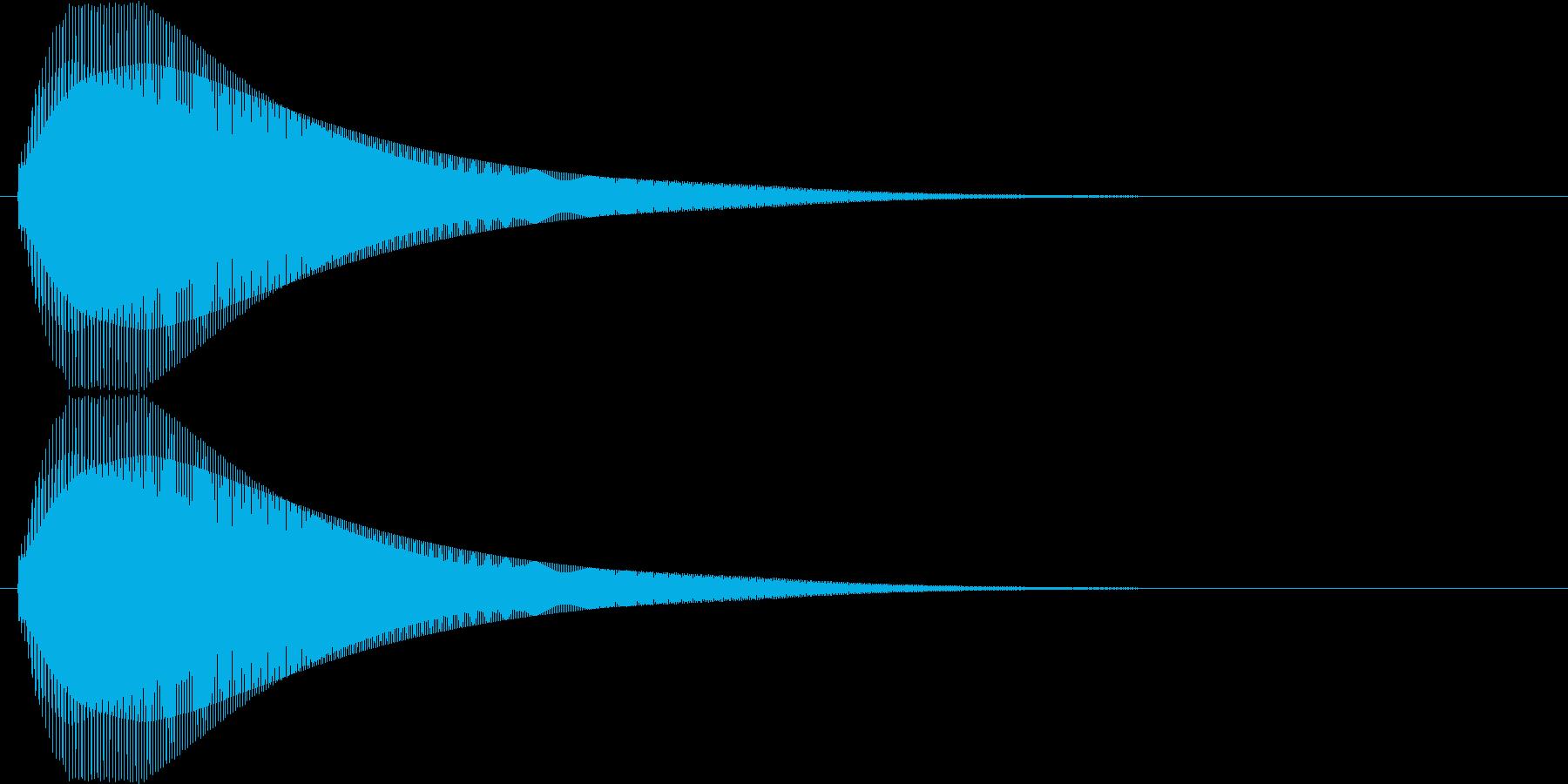 【ピヨーン】ファミコン系ジャンプ音_05の再生済みの波形