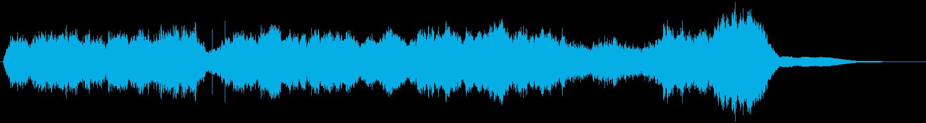 四声体基準のシンプルなストリングスBGMの再生済みの波形