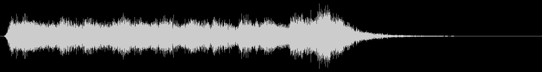 格闘!対決!ダークな管弦楽ファンファーレの未再生の波形