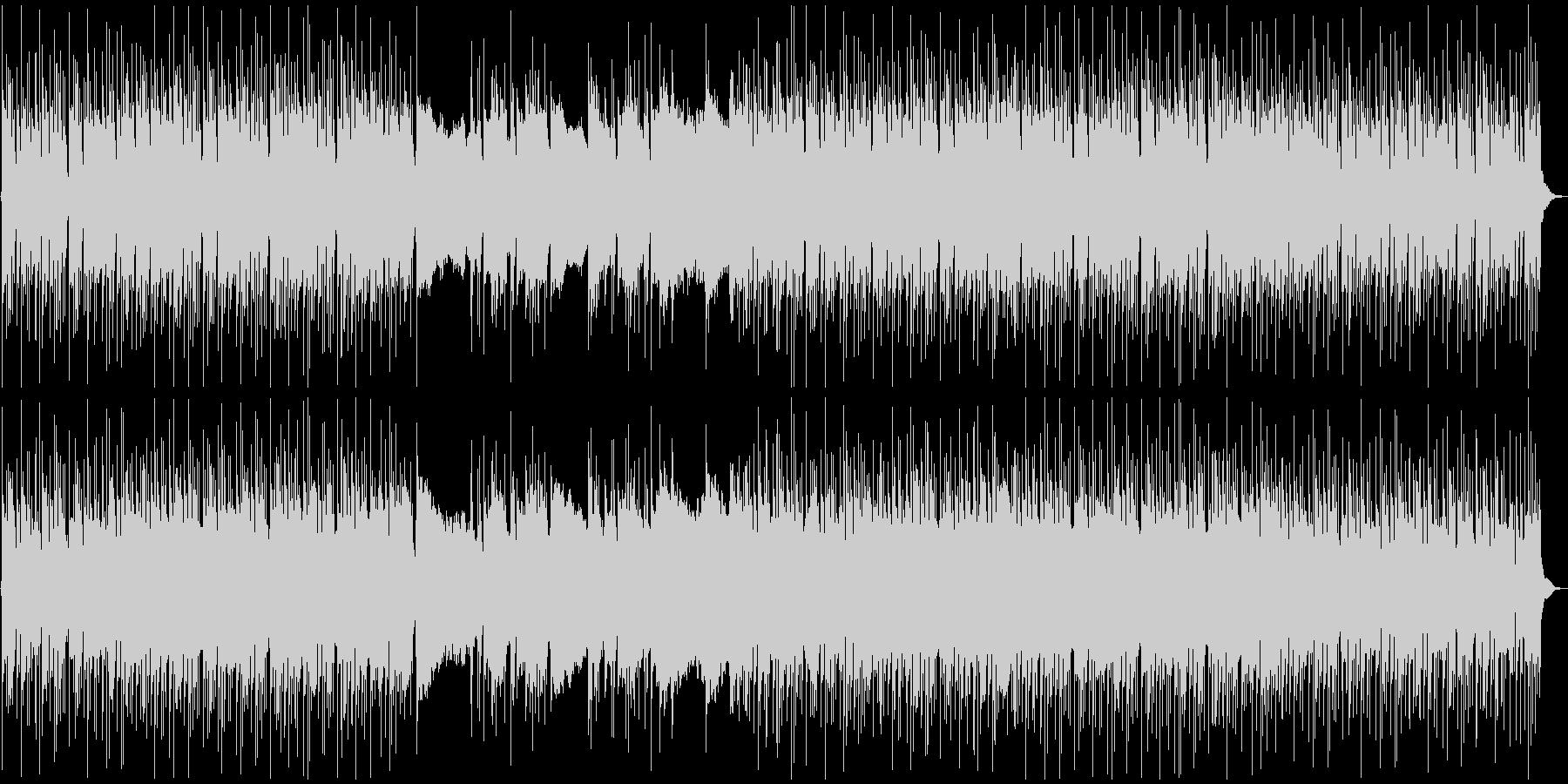 激しめ!メタルなギターリフの未再生の波形