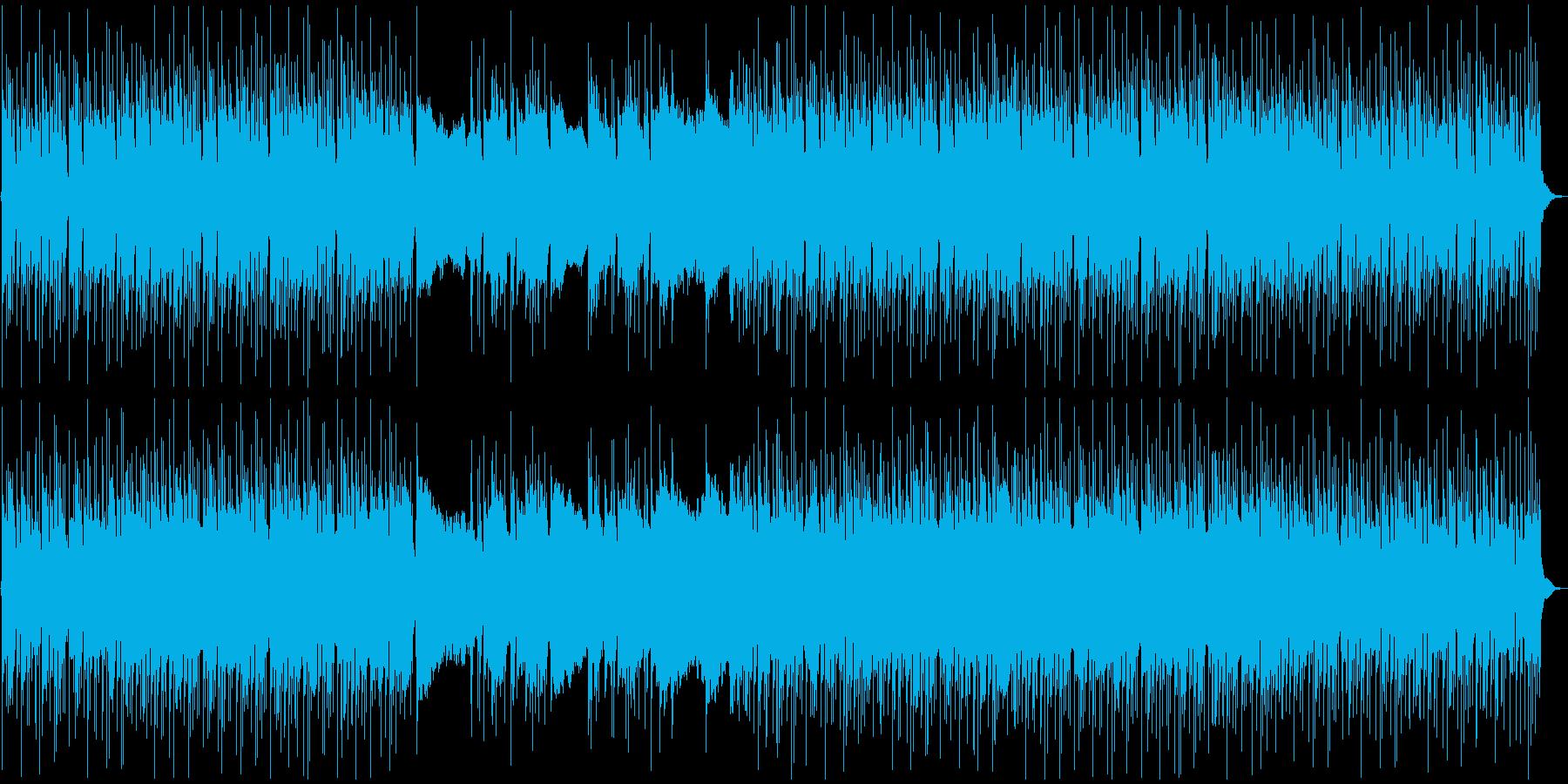 激しめ!メタルなギターリフの再生済みの波形